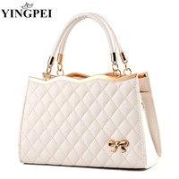 Для женщин Курьерские сумки дамы Tote небольшая сумка женская брендовая кожаная сумка crossbody сумка с шарфом замок дизайнер bolsas