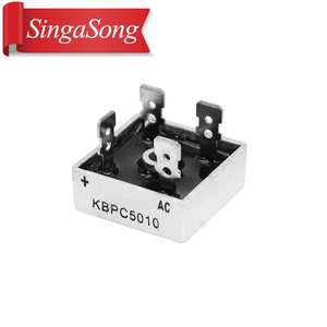 1pcs  KBPC5010 5010 50A 1000V Phases Diode Bridge Rectifier New And Original
