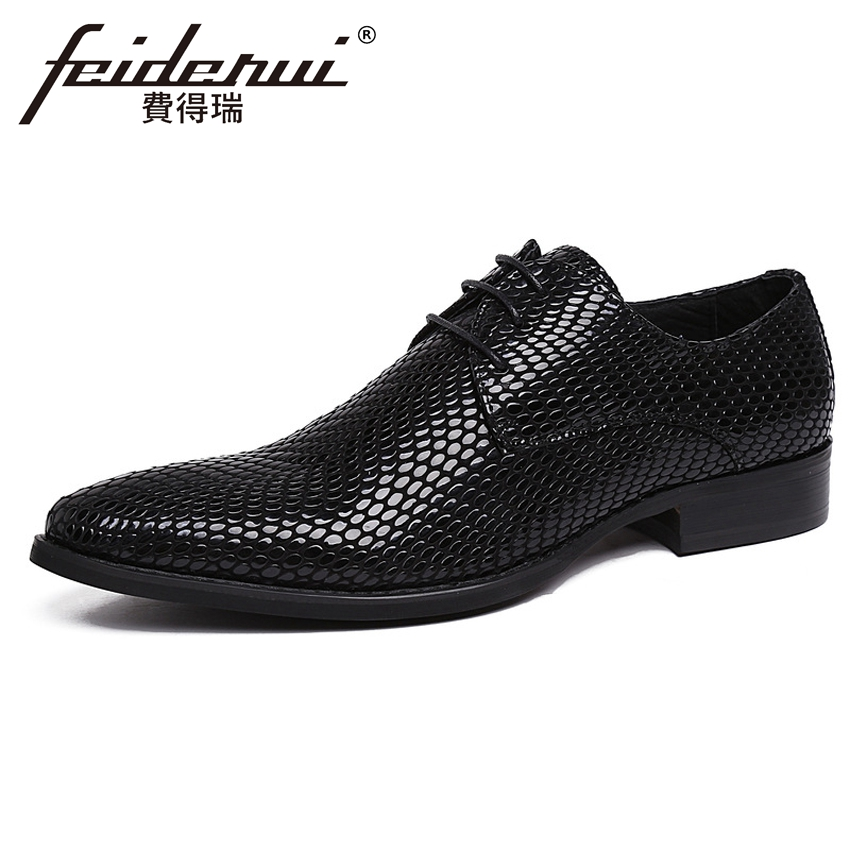 New Luxury Italian Handmade Mens Footwear Patent Leather Pointed Toe Derby Man Flats Formal Dress Wedding Party Shoes YMX207New Luxury Italian Handmade Mens Footwear Patent Leather Pointed Toe Derby Man Flats Formal Dress Wedding Party Shoes YMX207