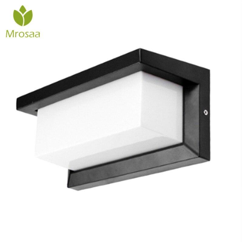 Led Kitchen Garden: Mrosaa Led Wall Lamp 3W Warm White/White Waterproof LED