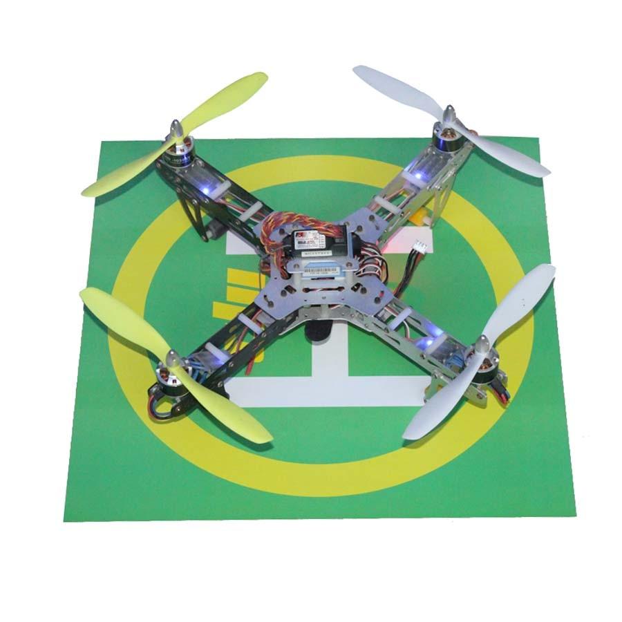 DJI Phantom 3 Accessories RC Drone Simple Takeoff Landing Apron Stickers Base logo signage for DJI DIY Drone Free Shipping