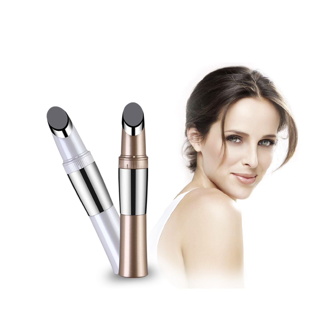 micro vibration heating Eye Wrinkle Removing Care anti-wrinkle facial massager Black Eye Beauty Pen dark circles Iontophoresis healthsweet 24k gold mini massage device electric eye massager facial vibration thin face magic stick anti bag pouch wrinkle pen