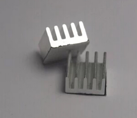 5PCS Stepper Driver A4988 Heatsink Aluminum Silver Heat Sink For 3D Printer