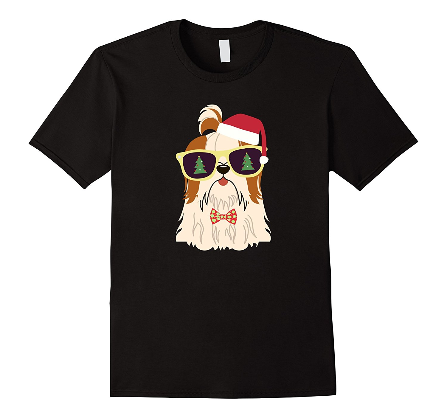 Yorkie Dog Shirt for Christmas for Yorkshire Terrier Lovers Printed Summer Style Tees Male Harajuku Top Fitness Brand Clothing
