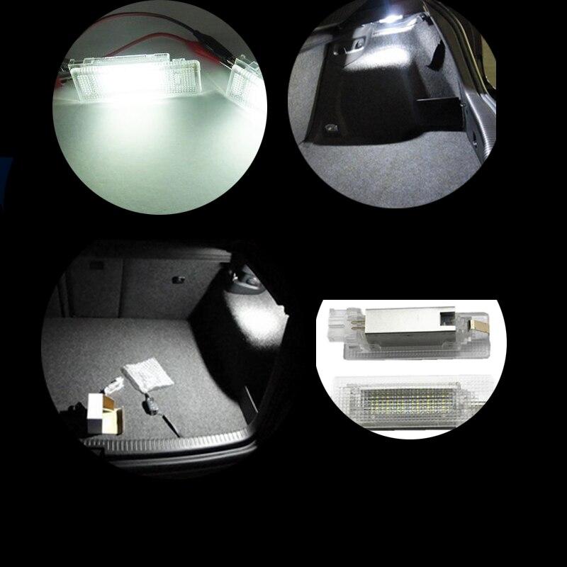 1 set LED bagageruimte verlichting Voor Caddy Campmob EOS Golf 5 ...