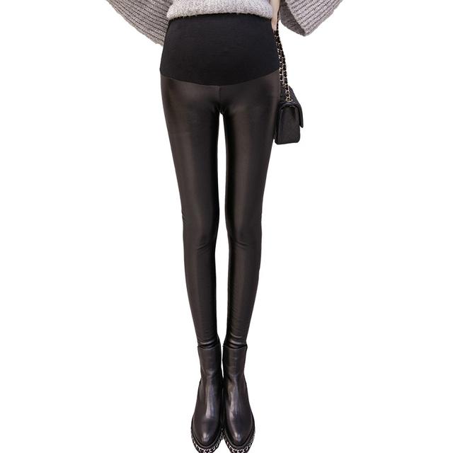 Maternity Pants Winter Thickening Chaparajos Pregnant Women Pants Plus velvet Maternity Wear Pants Leggings pregnancy clothes