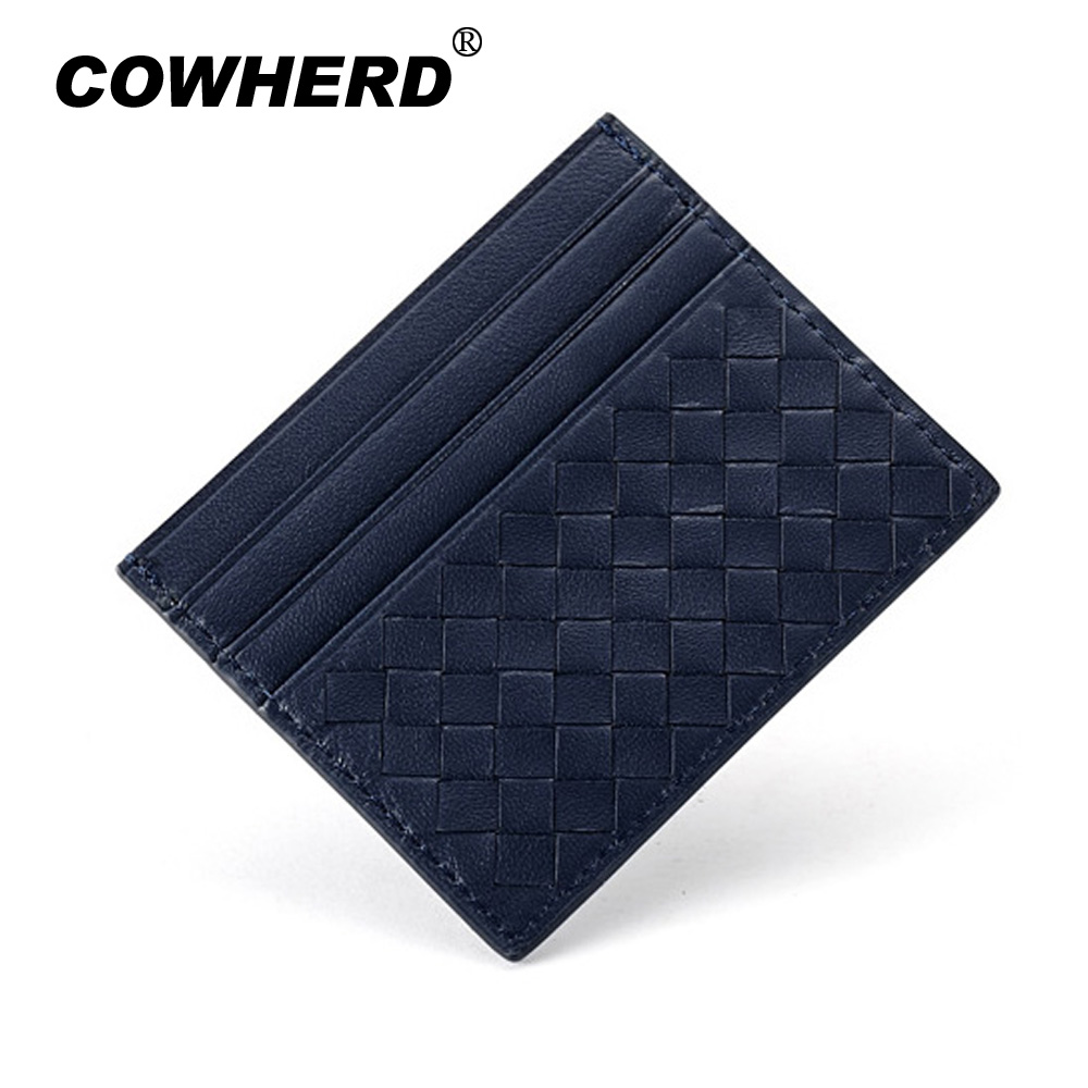 2017 new fashion knitting pattern women men genuine cow leather 2017 new fashion knitting pattern women men genuine cow leather bank business credit card holder bag 011 in card id holders from luggage bags on magicingreecefo Image collections