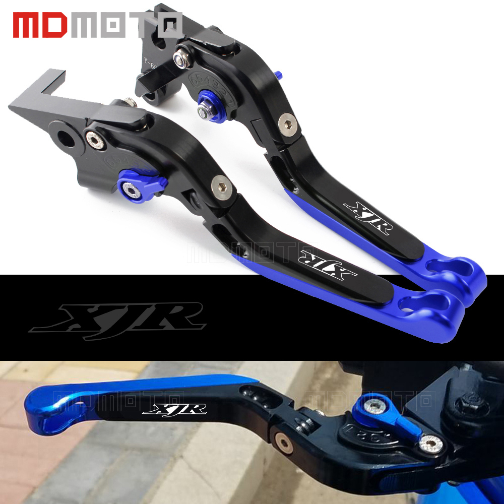 MDMOTO 6 colors XJR CNC Motorcycle Adjustable Short&Long Brake Clutch Levers For YAMAHA XJR 1300/RACER XJR1300 2004-2015 2016