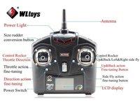 Transmittor livraison gratuite/V911 2.4G RC hélicoptère pièces de rechange supprimer contrôleur/radio contrôleur