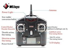 Transmittor livraison gratuite / Wltoys V911 2.4 G RC hélicoptère pièces de rechange retirer contrôleur / contrôleur radio