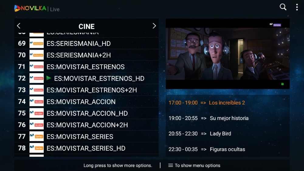 Испании IP ТВ Suscripción M3U на испанском языке 12, de asistencia Andorid Enigma2 стабильный Смарт ТВ