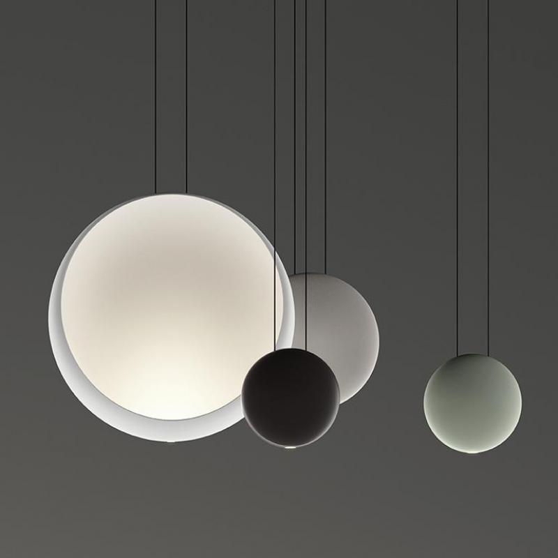 Post-modern Cosmos Design By Lievore Altherr Molina From Vibia Resin Led Pendant Light For Dining Room Living Room Bedroom 1167