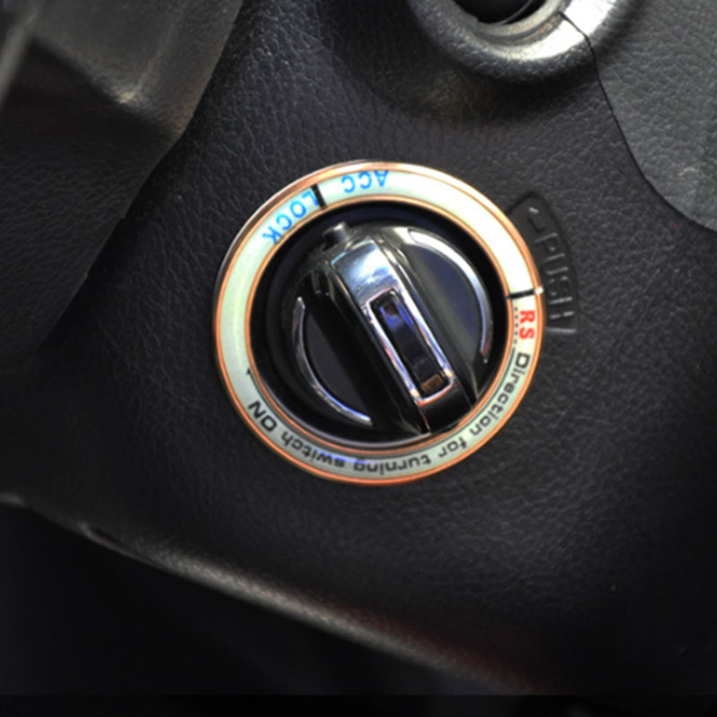 Lsrtw2017 Aluminum Alloy Car Start End Button Luminous Circle for Great Wall Haval H6 H2 H2s Coupe 2011 2020 2011 2012 2013 2014 in Interior Mouldings from Automobiles Motorcycles