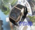 Hotsale Presente Agradável Xmas LED Light Blue Dot Matrix Mens Relógio de MERGULHO