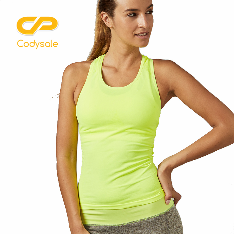 Codysale Summer Tops Women Vest Tank Tops Skinny Slim Sleeveless Shirt Lady Fitness Solid O-neck Tops Elastic Workout Tracksuits