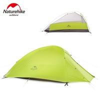 Nh Outdoor 3 4 Tent Hiking Aluminum Rod Four Seasons Silica Gel Double Layer