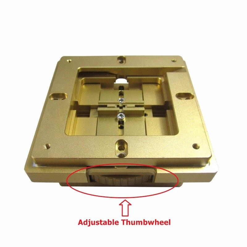 купить 80/90mm used BGA Reballing Station auto magnet reballing tool Lock Accurate Position Multi-Sides Adjustment по цене 3114.02 рублей
