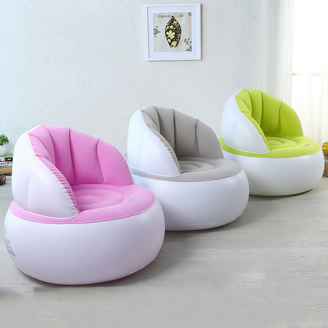 Sofa Stool One Piece Living Room Furniture Modern Beanbag Set Design Couches For
