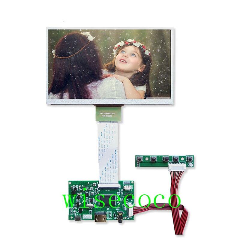 7 inch Raspberry Pi 3 Model B+ LCD Display 800*480 TFT Screen Drive Board for Raspberry Pi 3 for Orange Pi