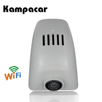 Kampacar WiFi DVRs For Audi A6 4F C6 Allroad 2006 2008 C7 2014 A7 2015 2018 2 Car Dvr Dashcam With Two Car Camera Dual Dash Cam