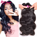 Indian Virgin Hair 4 Bundle Deals Indian Body Wave 8A Grade Virgin Raw Indian Hair 10''-28''Inch Wet And Wavy Human Hair Bundles
