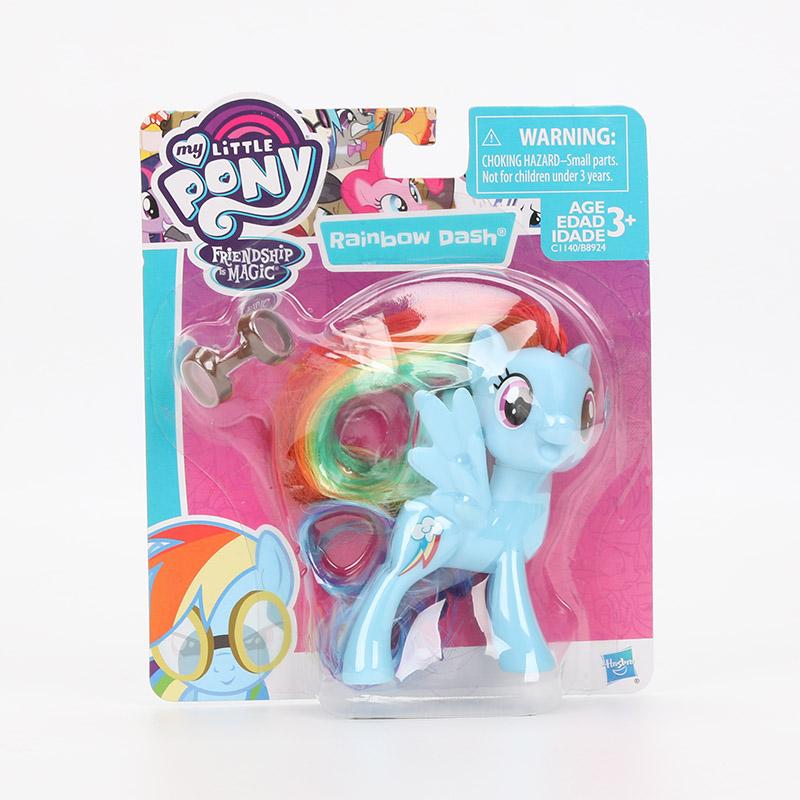 6d6181be15e 12pcs set My Little Pony Toys Mini Pony PVC Action Figures Set Rainbow Dash  Twilight Sparkle Apple Jack Spike the Dragon Dolls USD 9.88-14.28 lot