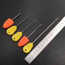 4x baiting needles for carp fishing boilies pop up corn hair rig making tools splicing needles drills leadcore line stoper tools