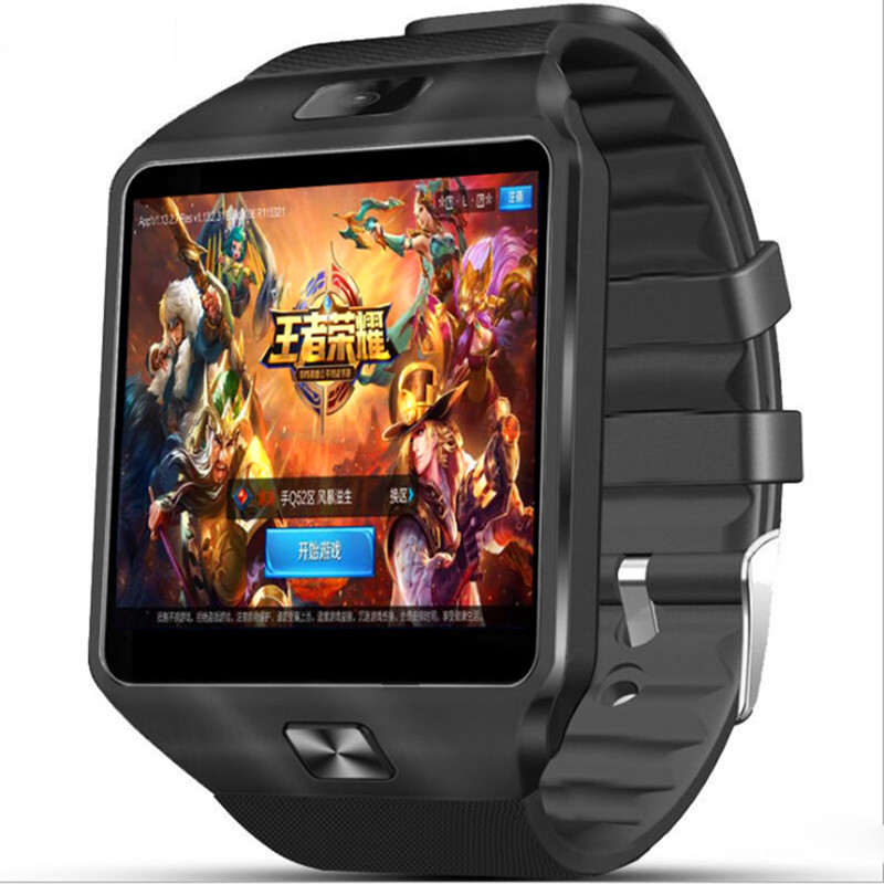 Bluetooth Smart Watch Man Clock Android 4.4 3G WiFi SIM Card Camera Smartwatch For IOS Android Phone Relogio Inteligente QW09
