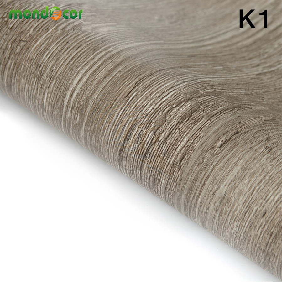 5m/10m Vinyl Wall Covering Home Decor PVC Fabric Sticker Roll Wallpaper  Furniture Wood Grain Part 47