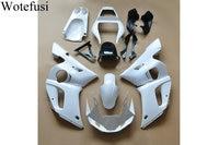 Wotefusi Molde de Inyección ABS Sin Pintar Carrocería Carenado Para Yamaha YZF R6 1998 1999 2000 2001 2002 [CK1025]