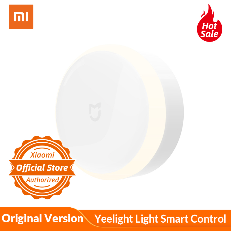 Xiaomi Mijia Sensor Yeelight Light Smart Control Photosensitive Infrared Human Body Sensor Adjustable Brightness Install Battery
