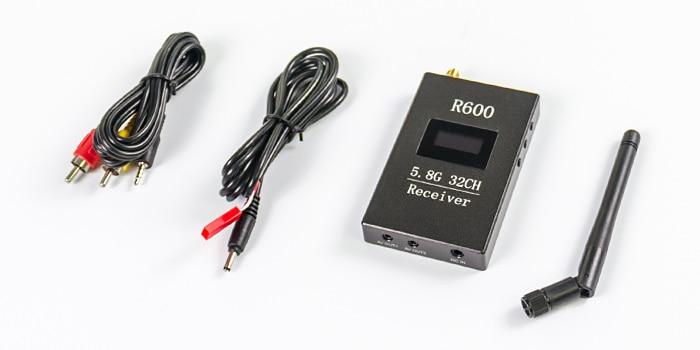 Skyzone R600 OLED 디스플레이 5.8g 32ch 수신기 FPV 5.8Ghz 고감도 수신 수신 감도 95dBm (5.8 g Ghz 95 dBm)