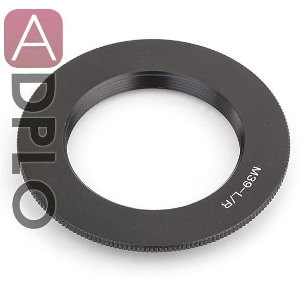 Adaptador de lente de câmera de trabalho para M39 Leica R LR R8 R7 R6 R9 R5