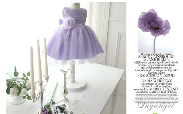 Hot Sale Weatern Beautiful Fairy Fluffy Designed Birthday Party Gift 9 Years Old Wedding Dress For