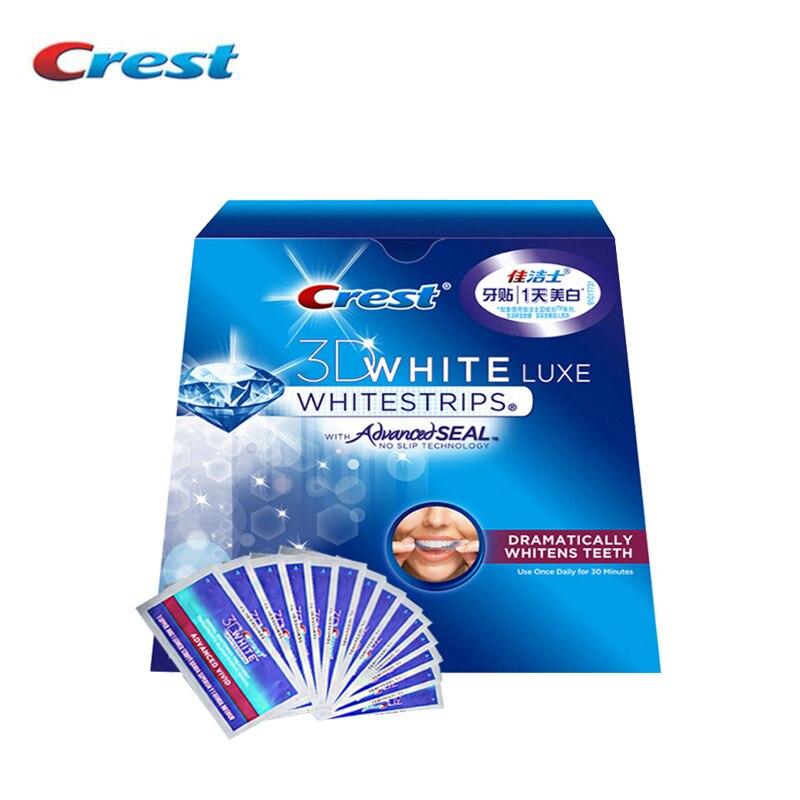все цены на 3D White Teeth Whitestrips Advanced Vivid 1 Box 14 Pouches Original Oral Hygiene Teeth Whitening Strips онлайн