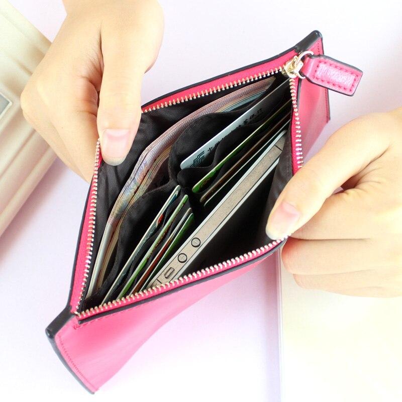 mulheres carteiras bolsas de couro Interior : Card Holder