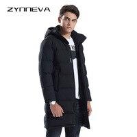 ZYNNEVA New Arrival Long Section Heated Jackets Men Down Heating Coat Winter Warm Cotton Hooded Outdoors Windbreakers GK6107