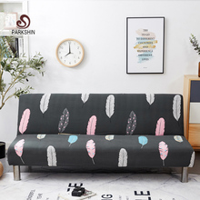 Parkshin Nordic All inclusive Folding Sofa Bed Cover Tight Wrap Sofa Towel Couch Cover Without Armrest housse de canap cubre