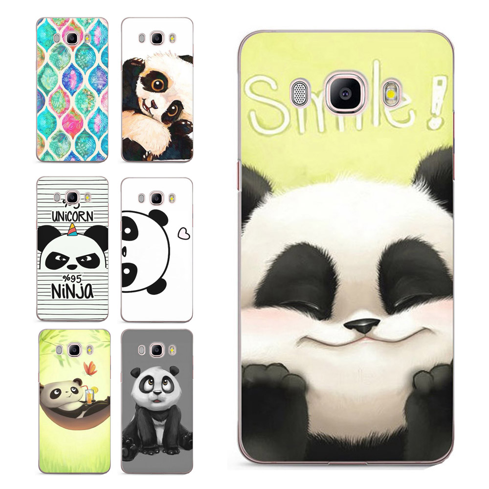 Case For Samsung Galaxy A3 A5 2016 2015 2017 prime J2 J3 J5 J7 G530H S8/plus Note 8 TPU Soft Butterfly panda Painted Case C032