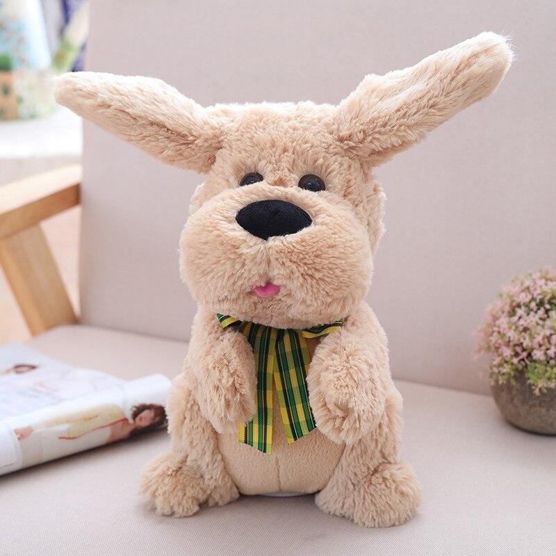 Muñeca de perro con oreja eléctrica de peluche Muñeca de peluche - Peluches y felpa