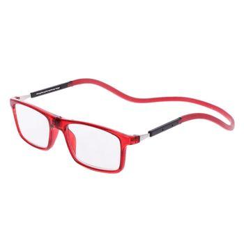 ab62ec52f9 Gafas de lectura presbiópicas imán presbicia ajustable cuello colgante  Unisex magnético + 1,00 a