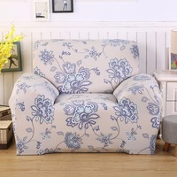L Shape Căng Vải Thun Sofa Cover Pet Góc Couch Bìa Sofa Cắt Cover Set Trang Chủ Trang Trí Nội Thất In Màu