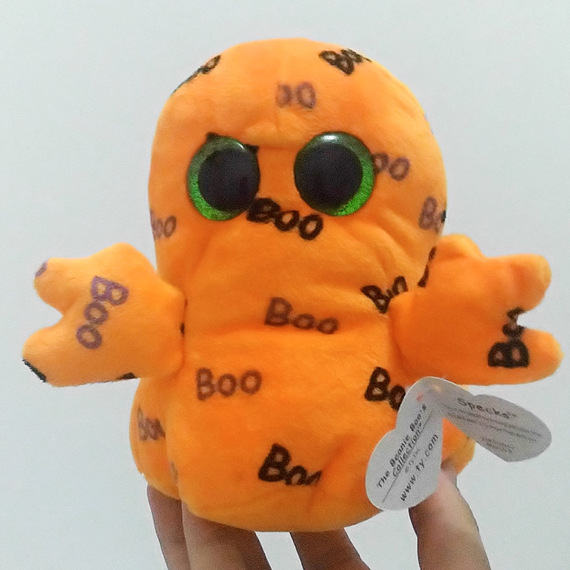ee3d63465fd Image 6 15cm Beanie Boos Original Big Eyes Halloween Monster Plush Toy Doll Child  Stuffed Animals
