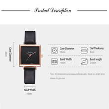 2018 Top Brand Square Women Bracelet Watch Contracted Leather Crystal WristWatches Women Dress Ladies Quartz Clock Dropshiping