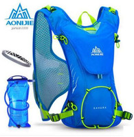 AONIJIE Outdoor Trail Running Marathon Hydration Backpack Lightweight Hiking Bag With 1 5L Hydration Water Bag