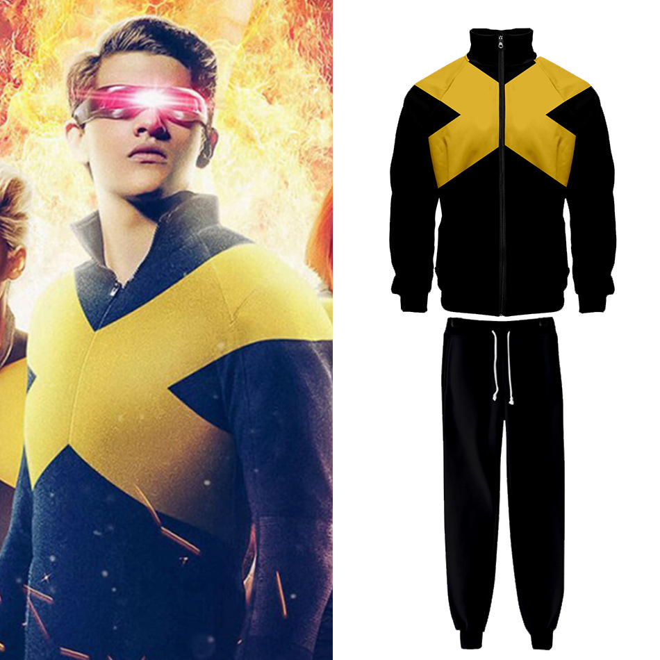 HTB1eJ4rbUGF3KVjSZFmq6zqPXXaQ Jaqueta X-Men: Fênix Negra novo casaco cosplay hoodies feminino cosplay traje suor feminino hoodies calças superiores para adultos