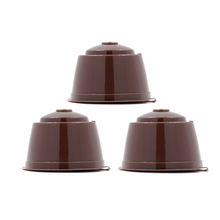 3 Pcs/Pack Refillable Reusable Coffee Capsule Pod Filter Cup Bracket Adpter Refill Cafeteira for Nescafe Dolce Gusto Machines