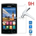 high quality Tempered Glass screen protector Protective Lcd Film Guard For Philips S337 / V787 / Sapphire S616 / Xenium V377