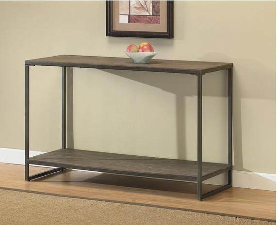Style de pays damérique meubles loft table de console de bois