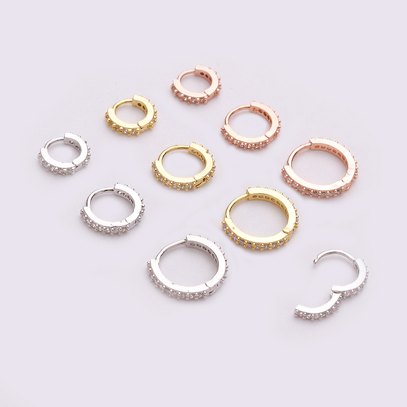 HTB1eJ5.bxiH3KVjSZPfq6xBiVXas - Sellsets New Arrival 1pc 6mm/8mm/10mm Cz Hoop Cartilage Earring Helix Tragus Daith Conch Rook Snug Ear Piercing Jewelry
